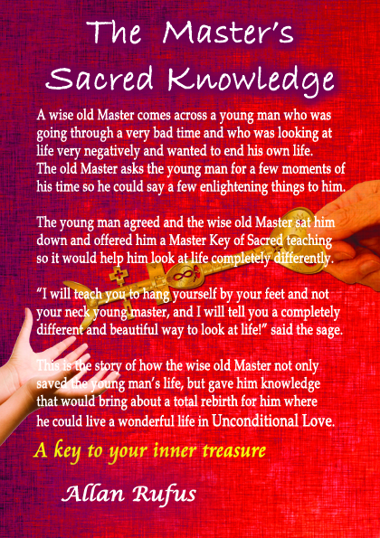 Books Back Cover - The Master's Sacred Knowledge