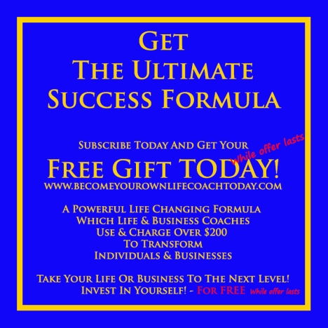 The Ultimate Success Formula